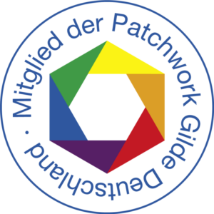 Logo: Mitglied der Patchworkgilde Deutschland